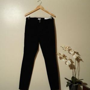 Loft   Black Legging  Jeans Size  30T